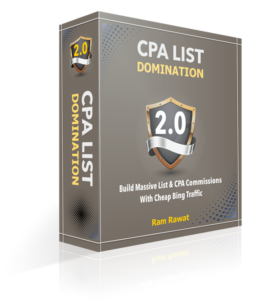 CPA List Domination 2.0 Review and Bonuses